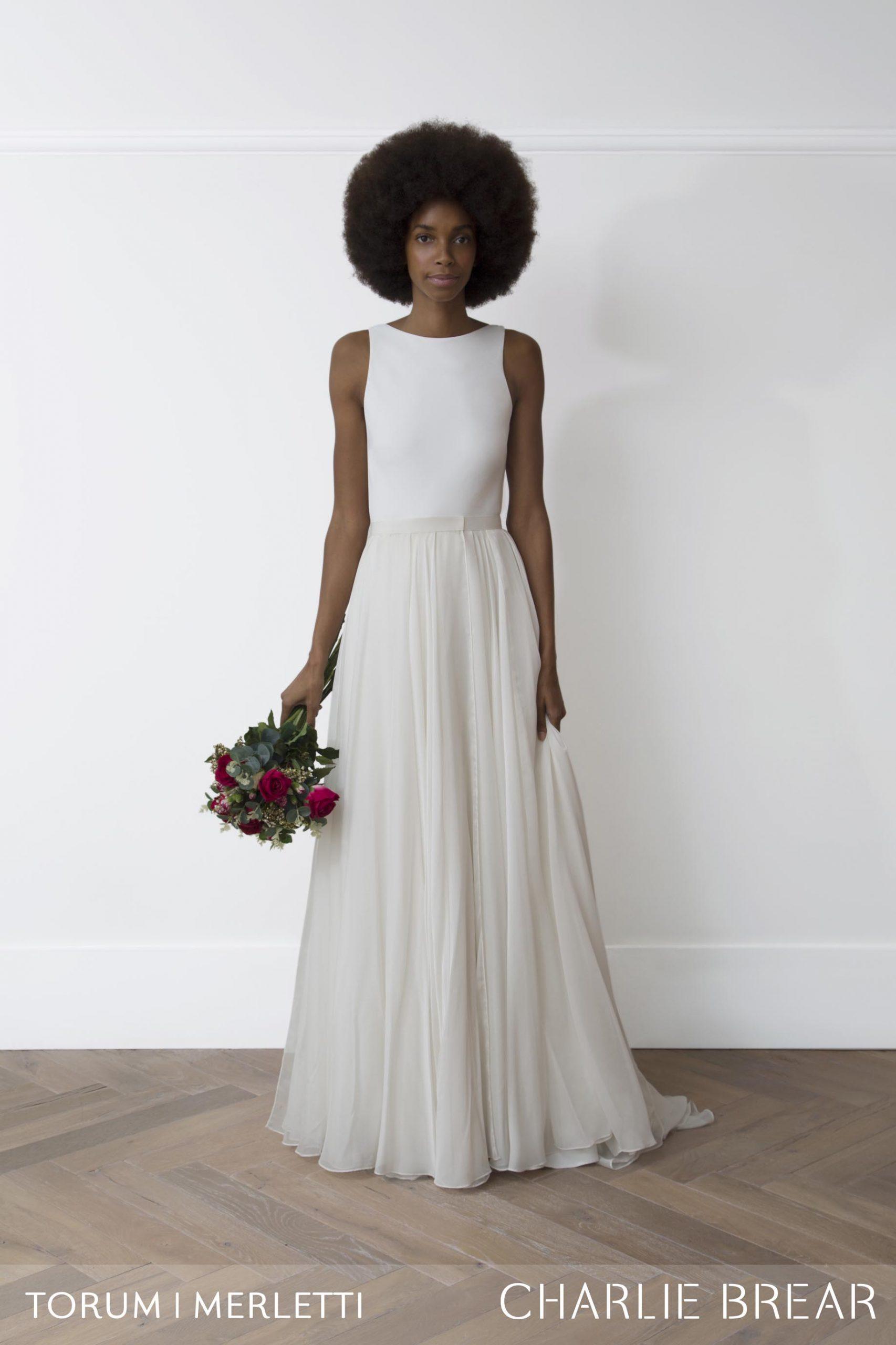 Torum Dress and Merletti Overskirt