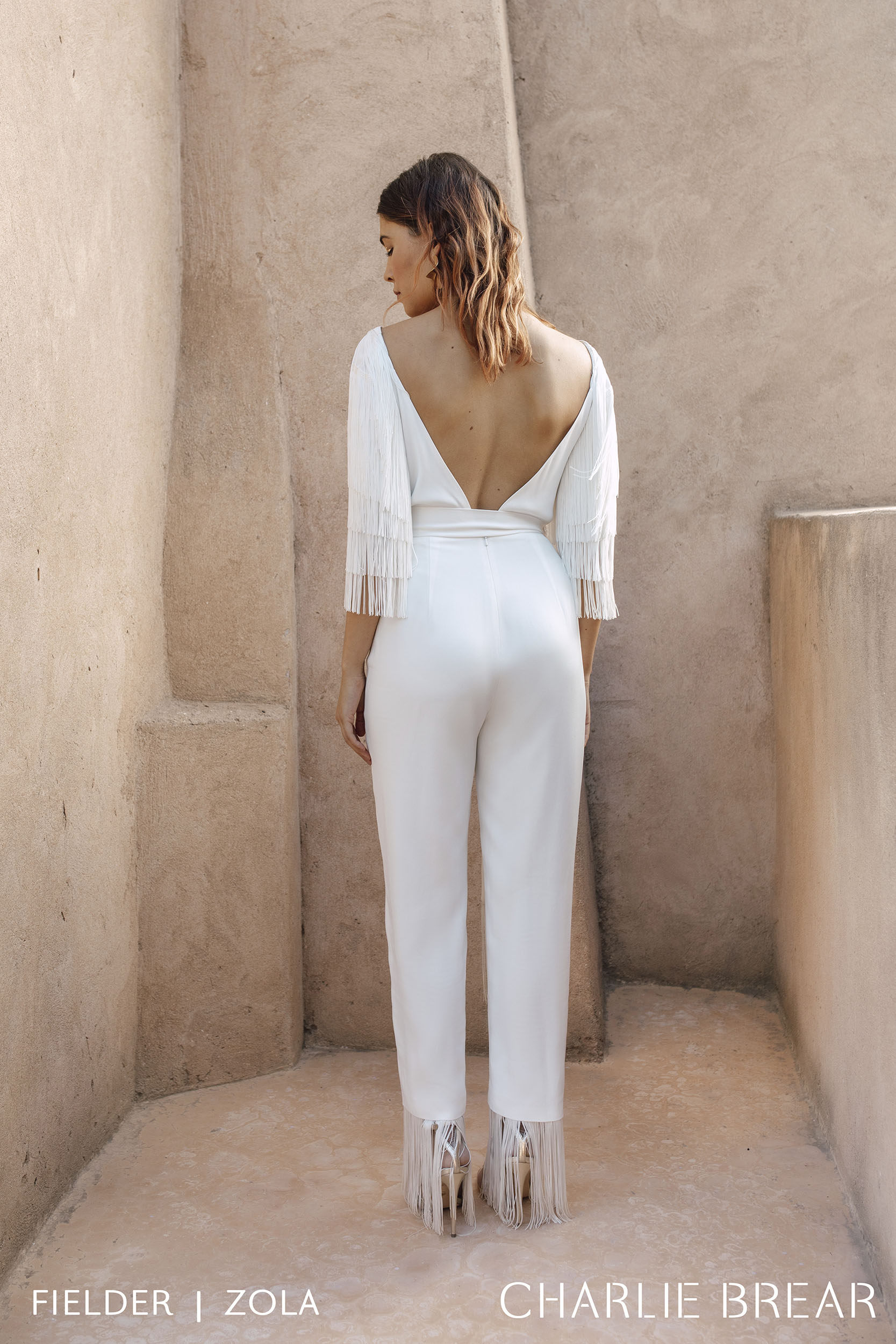Fielder Jumpsuit with Zola Sleeves